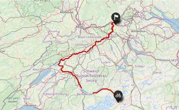 Radreisen Schweiz - Aare Route - Sportive-Reisen