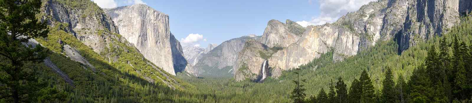 HOHE-PUNKT-WESTEN  Yosemite NationalPark with Bridalveil waterfall 111147029