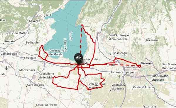 Sternradtour Gardasee Sportive Reisen