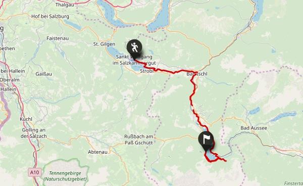 Salzkammergut Karte.Salzkammergut Rundwanderweg De Luxe Sportive Reisen
