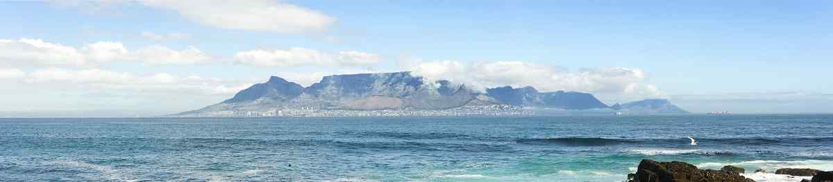 WAN-SA  Panorama of iconic Table Mountain a famous tourist destination 99001700