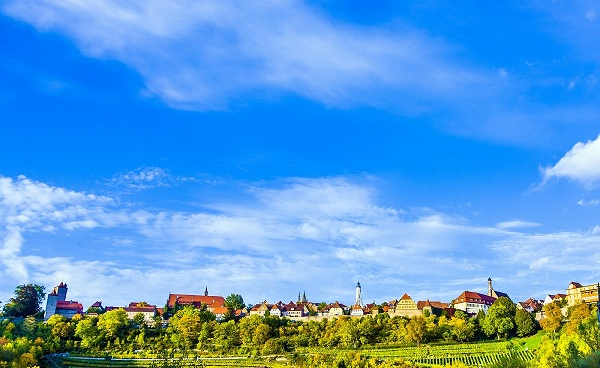 alt-rad-klass Rothenburg odT Panorama