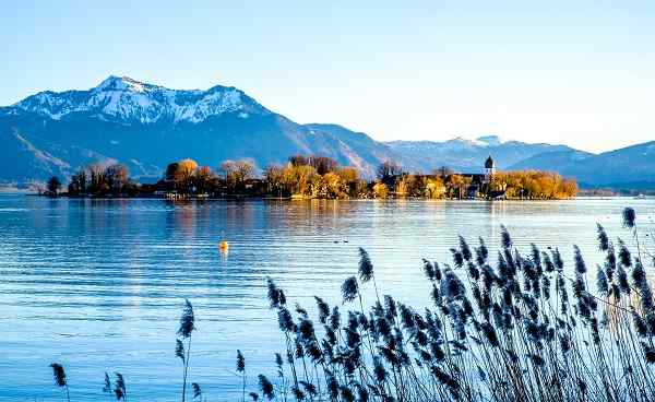 famous chiemsee lake in bavaria - germany 1014242977